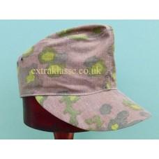 W-SS Camouflage Field Cap. (ORIGINAL Oak leaf material)