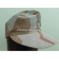 Splinter Pattern Camouflage Field Cap. (ORIGINAL splinter zeltbahn material)