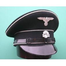 Allgemeine-SS Enlisted Man & NCO Peaked Cap