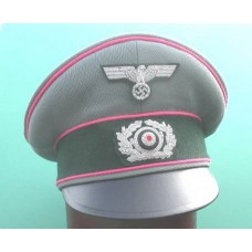 Army Panzer Officers Old Style Field Service Cap.