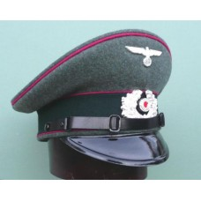 Army Veterinary EM & NCO Peaked Cap