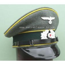 Army Signals Em/NCO Peaked Cap