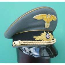 Diplomatic Official High Grade Career (Grey) Peaked Cap