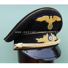 Diplomatic Official High Grade Career (Black) Peaked Cap