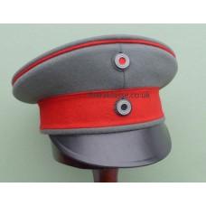 WWI German Officers M1915 Field Peaked Cap.