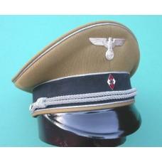 Hitler Youth Leaders Peaked Cap