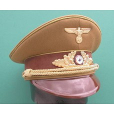N.S.D.A.P. Leaders Peaked Cap For Reichsleiter