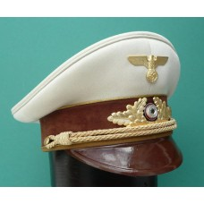 N.S.D.A.P. Leaders Peaked Cap with White Top