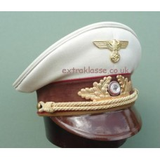 N.S.D.A.P. Gauleitung Peaked Cap with White Top
