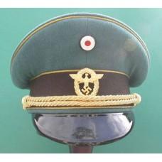 Police Generals Peaked Cap