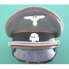Waffen-SS Kz.Lager Officers Peaked Cap