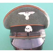 Waffen-SS KzL Enlisted Man & NCO Peaked Cap