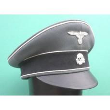 Waffen-SS Officers Crusher Cap