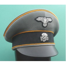 Waffen - SS Reconnaissance / Cavalry Officers Crusher Cap