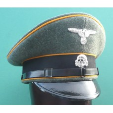 Waffen-SS Reconnaissance / Cavalry EM & NCO Peaked Cap