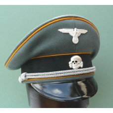 Waffen - SS Reconnaissance / Cavalry Officers Peaked Cap