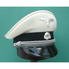 Waffen-SS Generals White top Peaked Cap