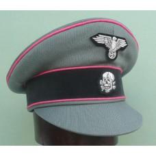 Waffen-SS Panzer Officers Crusher Cap