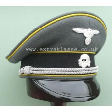 Waffen-SS Signal Officers Peaked Cap