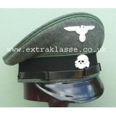 Waffen-SS Panzer-Grenadiere / SS Polizei Div. Enlisted Man & NCO Peaked Cap