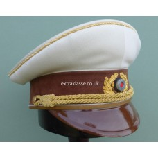 Adolf Hitler White Top Peaked Cap.