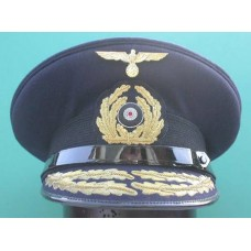 Kriegsmarine Admirals Peaked Cap