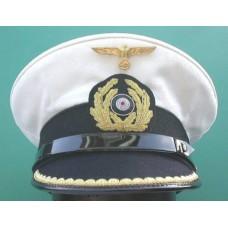Kriegsmarine Kapitanleutnant Peaked Cap