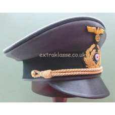 KM Admirals Field Grey Uniform Peaked Cap