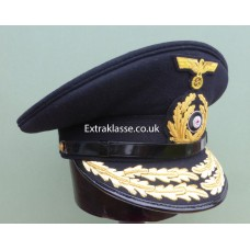 Kriegsmarine Admirals Peaked Cap.
