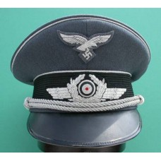 Luftwaffe Officers Peaked Cap