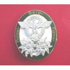 Polizei Bergfuhrer Breast Badge