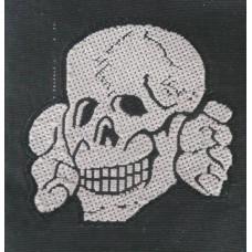 W-SS Em/NCO BeVo Cap Skull