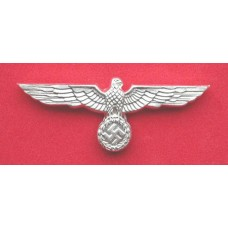 Army Cap Eagle - Silvered