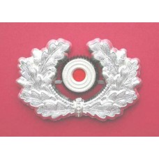 Army Cap Wreath & Cockade – Silvered