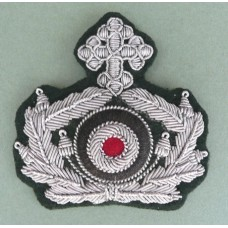 Army Chaplain Peaked Cap Wreath & Cockade