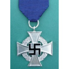 Faithful Service Decoration in Silver for 25 years