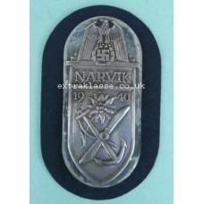 Narvik Battle Shield (Kriegsmarine issue)