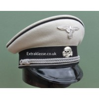 Allgemeine-SS Officers White Top Peaked Cap.