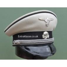 Allgemeine-SS Officers White Top Peaked Cap.