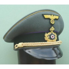 Army Field Bishop Peaked Cap.
