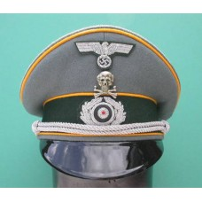 Army Cavalry Officer Peaked Cap