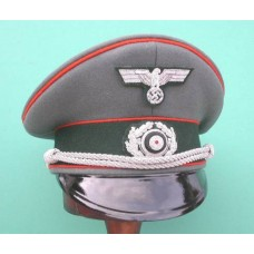 Army Feldgendarmerie Officer Peaked Cap
