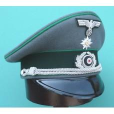 Gebirgsjäger Officer Peaked Cap