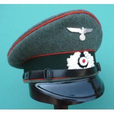 Feldgendarmerie EM & NCO Peaked Cap.