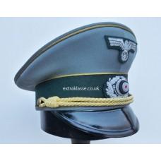 Army Generals Peaked Cap - Pre November '42