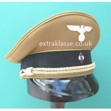 Hitler Youth Leaders Peaked Cap
