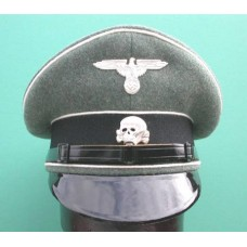 Waffen-SS Enlisted Man & NCO Peaked Cap