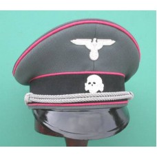 Waffen-SS Panzer Officers Peaked Cap