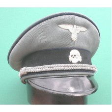 Waffen-SS Medical Officers Peaked Cap.