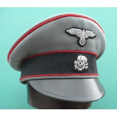 Waffen-SS Artillery Officers Crusher Cap